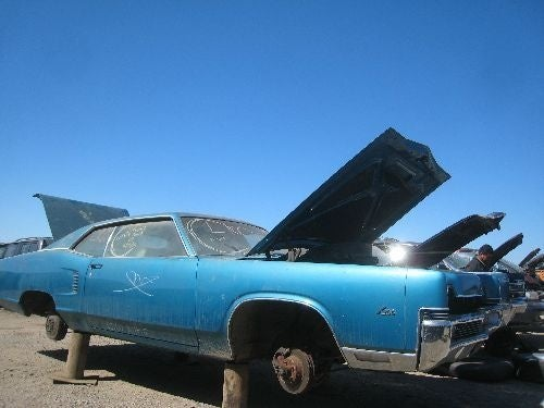 1969 Mercury Marauder X-100, 1968 Chrysler 300 Go To Crusher Side By Side