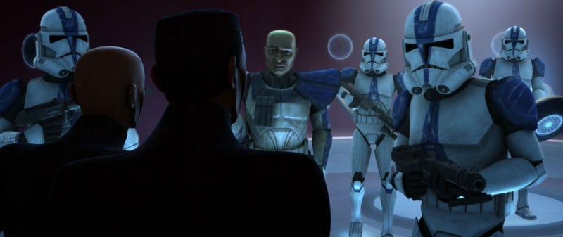 The Clone Troopers finally fight Krell, Wally West dresses up as Teen Wolf, & Harry Potter leaves Hogwarts!