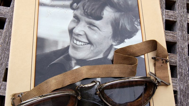 Amelia Earhart May Have Continued Her Freckle-Removing Regimen on a Desert Island