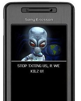 The End Of Humanity Nears: Website Sends Your Drunk Texts To Aliens