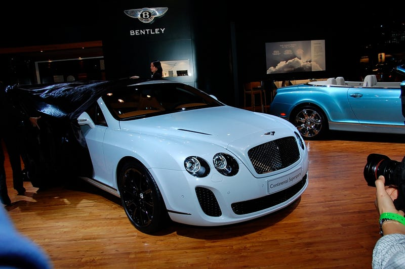 Bentley Continental Supersports To Cost $267,000, 50 Acres Of Corn