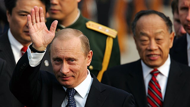 Putin Wins Chinese Peace Prize for His Gentle Invasion of Chechnya
