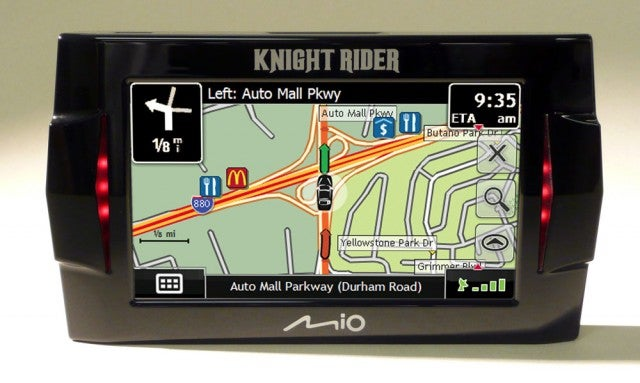 Knight Rider GPS With KITT's Voice!