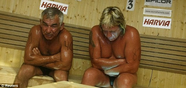 World Sauna Championships End In Death