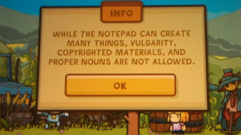 Meme Creator: Wouldn't You Be Sued for Using Scribblenauts' Copyright?