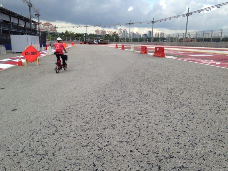 Singapore GP Track