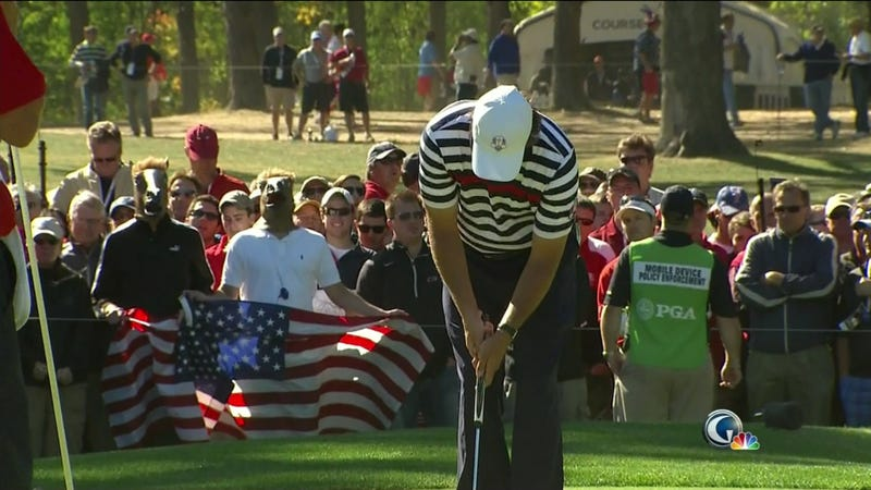 Did These Fans Think The U.S. Would Hold Onto The Ryder Cup Lead? Neigh
