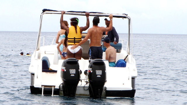Serena Williams And Her Coach Had A Nice Boat Trip