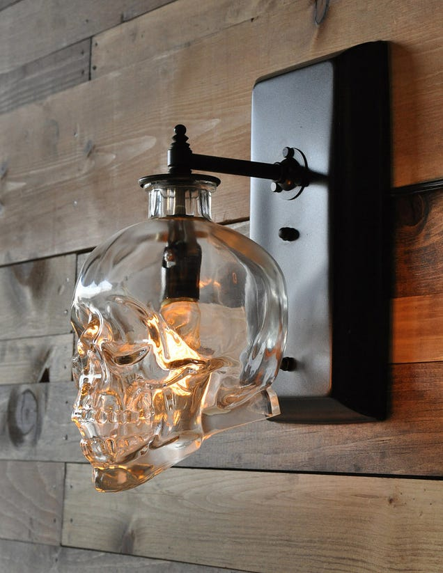 Crystal Block Table Lamp You can learn how to do this yourself with some generalized sconce ...