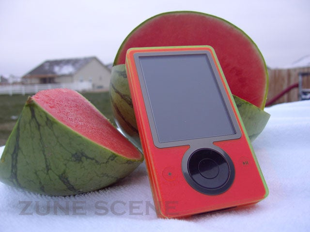 Pink Zune Now Shipping