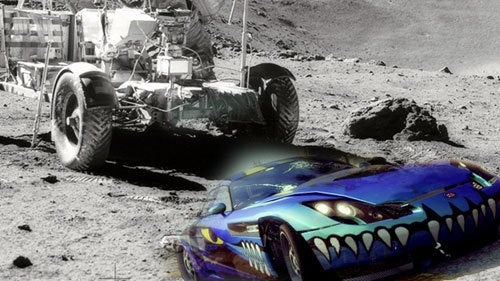 Burnout Paradise On The Moon?