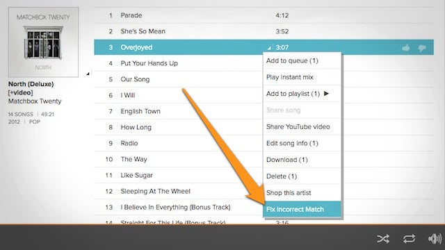 Fix Incorrectly Matched Songs on Google Music