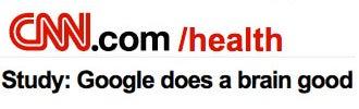 Mainstream media decides Google no longer makes you stupid