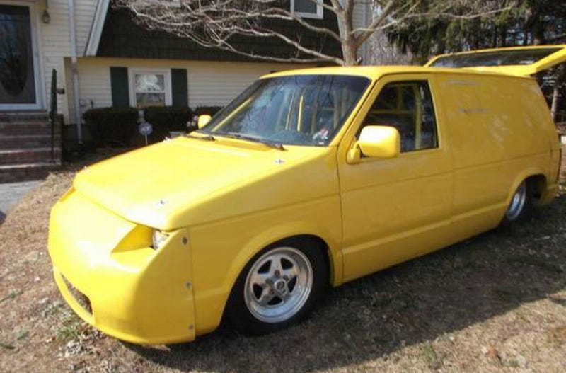 For $12,500, Who's Da' Van?