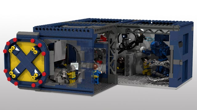 Please let this LEGO X-Men Mansion playset become a reality