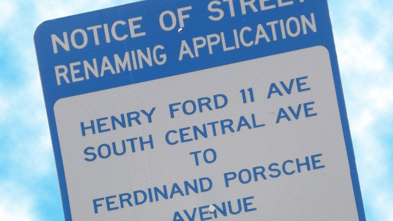 Porsche Wants To Change Street Named For Henry Ford II To 'Ferdinand Porsche Avenue'