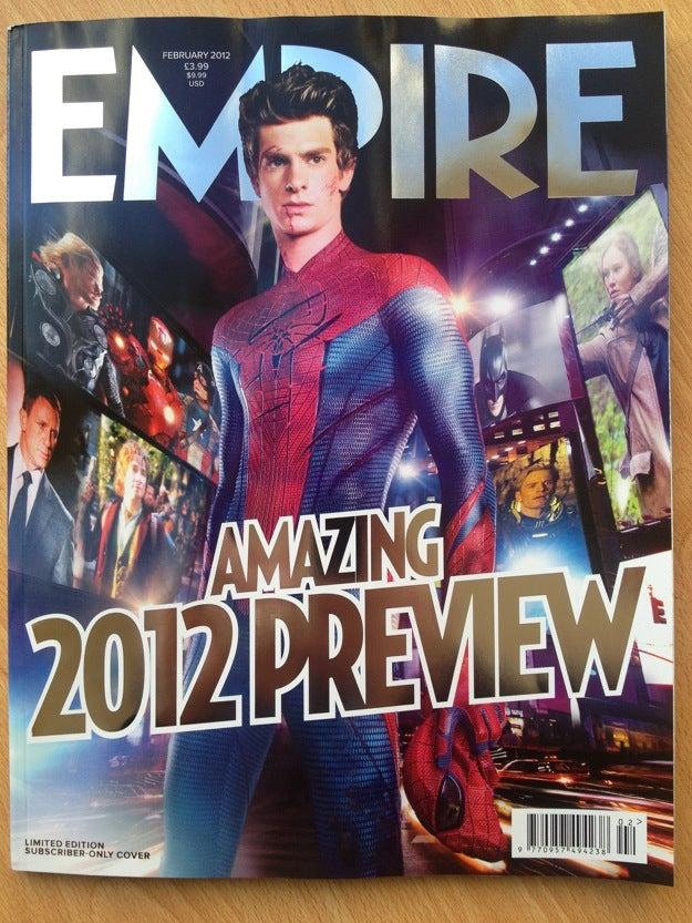 Amazing Spider-Man Empire Magazine Gallery