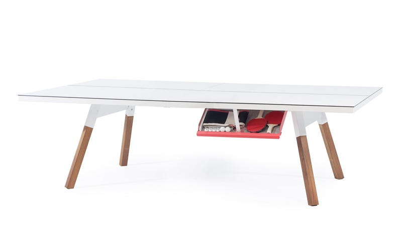 The Perfect Desk Could Also Be a Regulation Ping-Pong Table