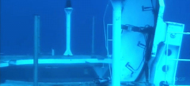 The fastest cruise missile in the world launching underwater