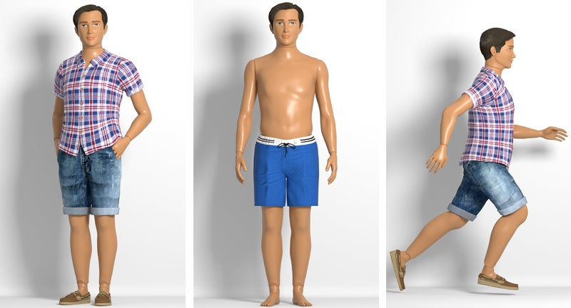 The First Realistically Proportioned Male Doll Embraces the Dadbod