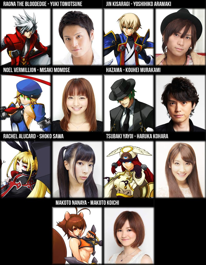 BlazBlue is Getting a Live-Action Stage Play