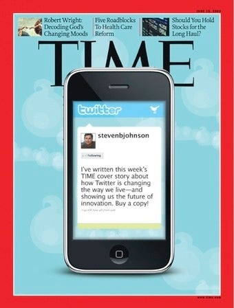 Time Puts Twitter on Cover, at Vanguard of American Economy