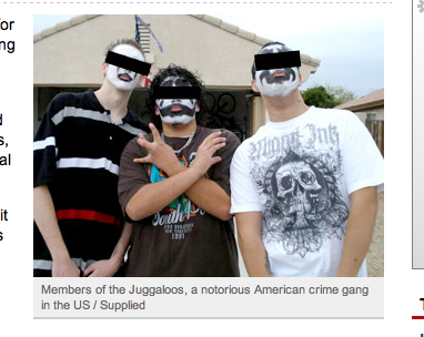 Australia's Newest Menace: Juggalos