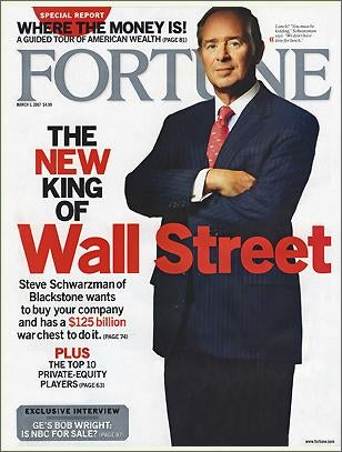 Fortune Suddenly Indignant About Wall Street