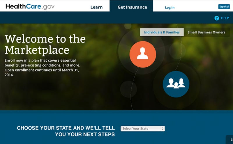 Healthcare.gov's Data Center Went Down Over the Weekend