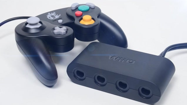 Wii U GameCube Controller Adapter Out This Holiday For $20