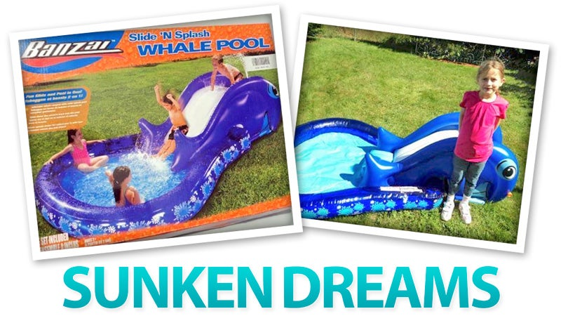 Everything You Need To Disappoint Kids Who'd Hoped For a Real Pool This Summer
