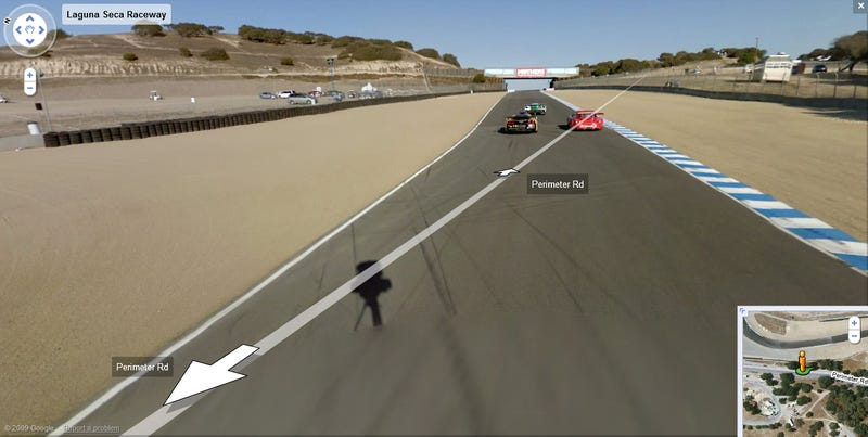 Google Street View Laps Laguna Seca With ALMS Race Cars!