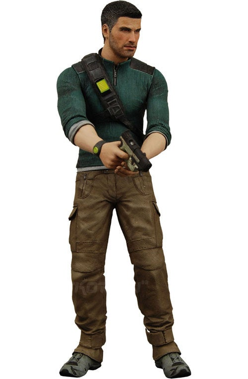 Splinter Cell Action Figure Sneaking Onto Shelves