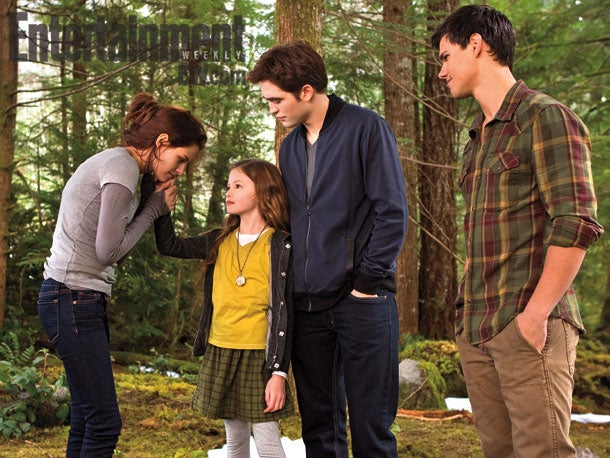First Look at Twilight: Breaking Dawn - Part II