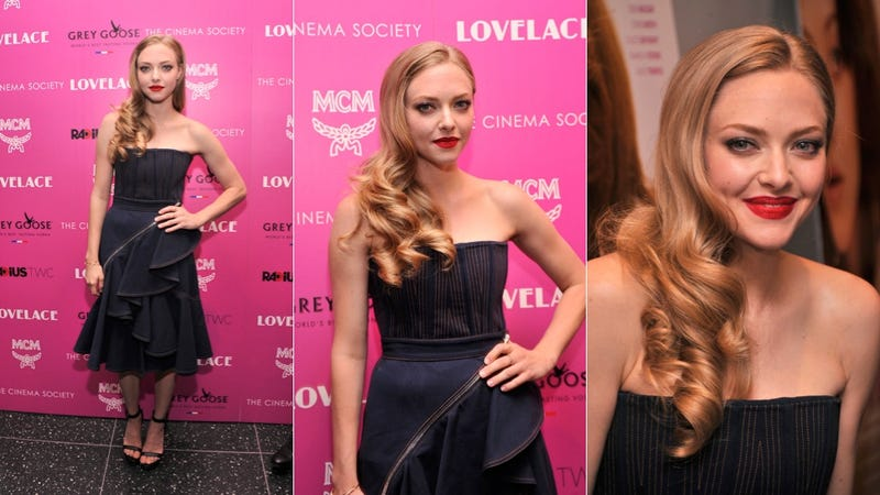 Chic Dresses and Killer Hair at the Lovelace Screening