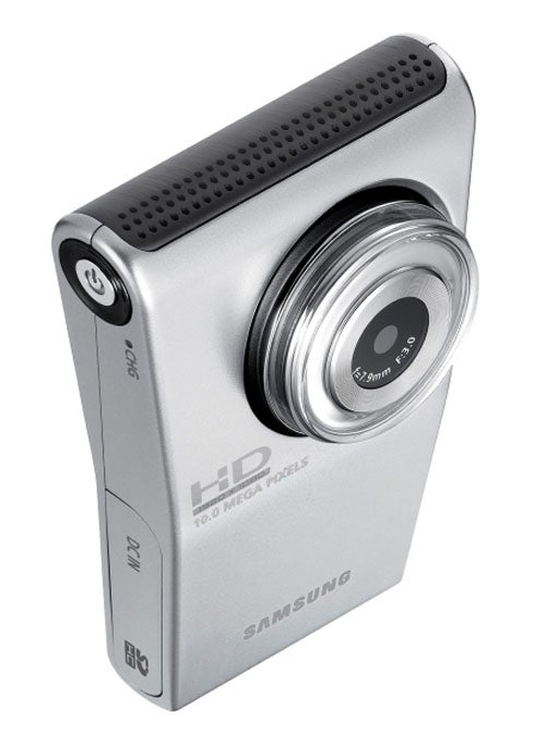 Samsung Barges Into Flip Territory With HMX-U10 1080p Pocket Camcorder
