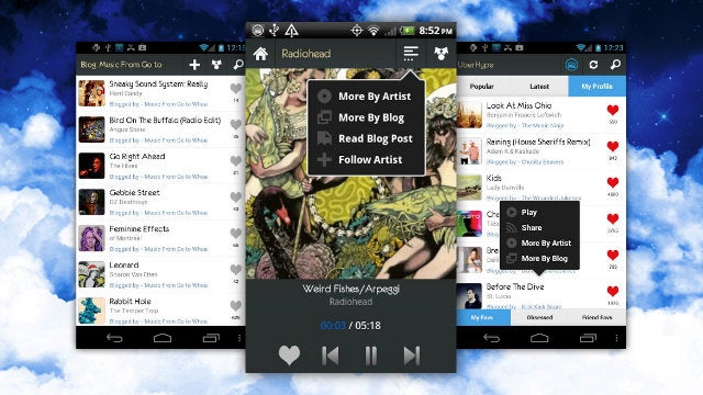 UberHype for Android Puts Great New Music on your Phone, Anywhere You Are