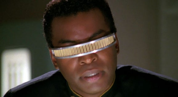 Always Wanted to Try on Geordi's Visor?