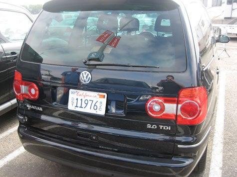 Volkswagen Sharan Spotted In Irvine
