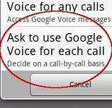 Google Voice for Android Adds Notification and Call Options