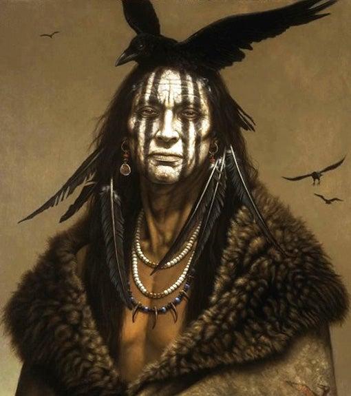Depp's Tonto - Based on Original Portrait