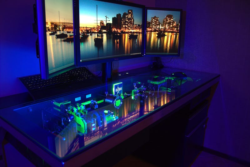 The Compudesk: An Epic, Custom-Built All-in-One Desk
