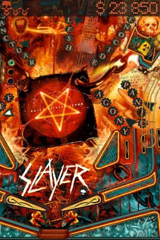 Metal Band Slayer Thinks Pinball Rocks on iPhone and iPad
