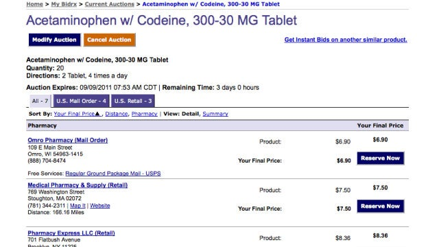 BidRx Saves You Money on Medicine By Making Pharmacies Bid on Your Prescriptions