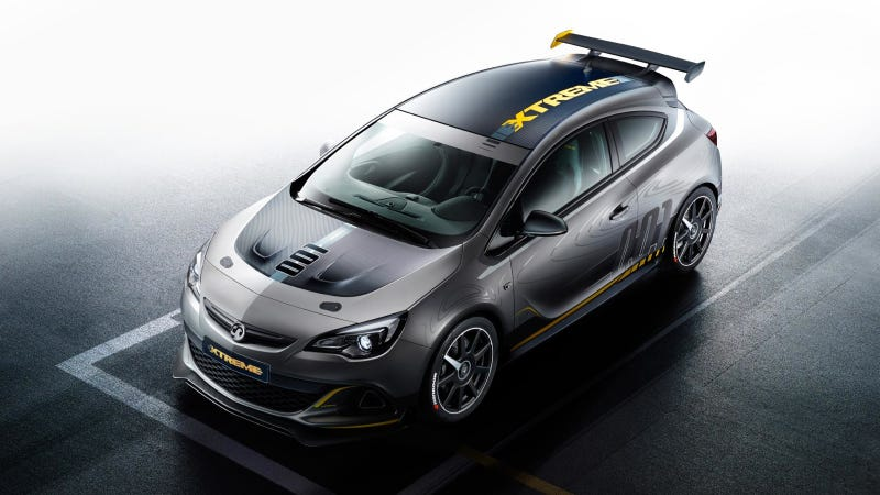 The Vauxhall Astra VXR EXTREME Is 296 Horses Of Extreme Extremeness