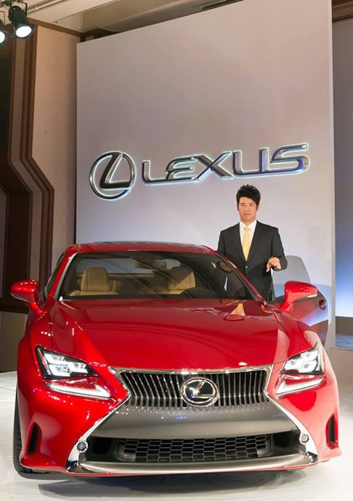 Lexus sponsors rising star of golfing, Hideki Matsuyama