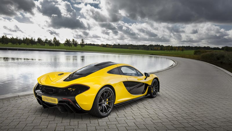 McLaren P1: 0-62 MPH In 2.8 Seconds, 28 MPG, OMG, OMG, OMG