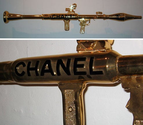 That Chanel Rocket Launcher Is SO Iraq Spring 2007