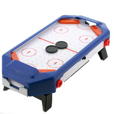 Honey, I Shrunk the Air Hockey Table