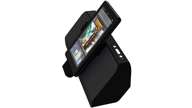 Non-iPad Speaker Dock Says the Kindle Fire's Finally Arrived